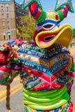 Carnival Costume Lechones Mask Stock Photo