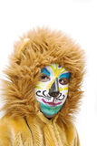 Carnival costume-lion. Royalty Free Stock Photography