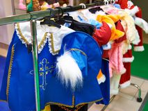 Carnival costume musketeer Stock Photography