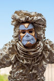 Carnival costume Royalty Free Stock Images