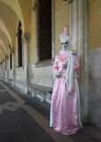 Carnival costume in Venice Royalty Free Stock Photos