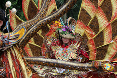 Carnival costumes Stock Images