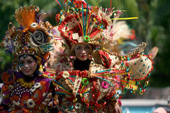 Carnival costumes Royalty Free Stock Photo