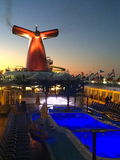 Carnival Cruise Ship Fascination. The Carnival Cruise Ship Fascination 2015 Royalty Free Stock Photo
