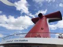 Carnival Cruise Ship Fascination Royalty Free Stock Photos