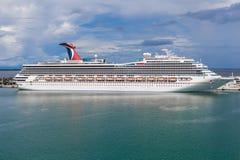 The Carnival Cruise Ship Liberty Royalty Free Stock Photo