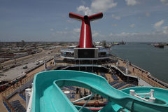 Carnival cruise ship Triumph Stock Photo