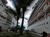 Carnival Cruise 2018 stock photo