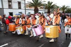 carnival cruz de santa tenerife Στοκ Εικόνες