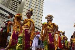 Carnival culture Semarang Royalty Free Stock Photography