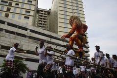 Carnival culture Semarang Royalty Free Stock Photo