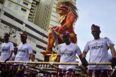 Carnival culture Semarang Royalty Free Stock Images