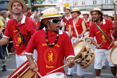 Carnival of cultures in Berlin. 31 May 2009. Street parade Stock Images