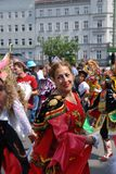 Carnival of cultures in Berlin Royalty Free Stock Image