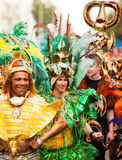 Carnival of Cultures (Berlin 2010). Participant of a Samba group at the Carnival of Cultures Stock Photo