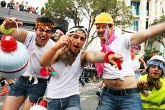Carnival in Cyprus Stock Photo