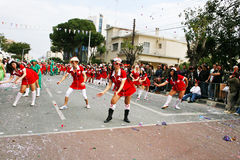 Carnival in Cyprus royalty free stock photos
