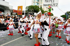 Carnival in Cyprus Stock Photos