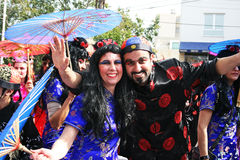 Carnival in Cyprus Stock Images