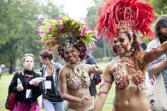 Carnival dancer Royalty Free Stock Photography