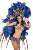 Carnival dancer Stock Images