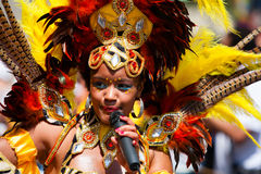 Carnival Dancer Royalty Free Stock Images