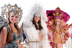 Carnival dancers stock photos