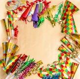 Carnival decorations. Holidays background. Venetian mask festiva Royalty Free Stock Image