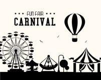 Carnival design over white background vector illustration. Carnival design over white background, vector illustration Royalty Free Stock Images