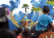 Carnival Devil, Dominican Republic. Stock Photography