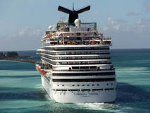 Carnival Dream in Nassau Royalty Free Stock Photography