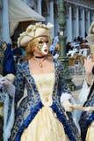 Carnival dress, Venice, Italy, Europe royalty free stock photography