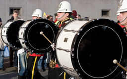Carnival Drumers Stock Image