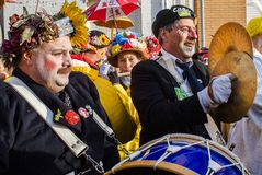 Carnival in Dunkirk, France royalty free stock photography