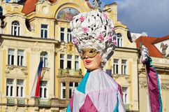 Carnival event in Prague Stock Photos