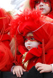 Carnival face, Limassol Cyprus Royalty Free Stock Photo