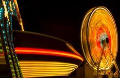 carnival fair rides Στοκ Εικόνες