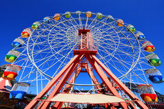 Carnival Fairground Ferris Wheel Royalty Free Stock Photo