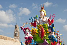 Carnival of Fano Stock Photography