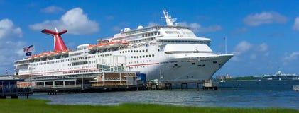 Carnival Fantasy Cruise Ship. Royalty Free Stock Photos