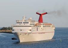 Carnival Fascination cruise ship Royalty Free Stock Photos