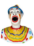 Carnival Feed the Clown Figure Stock Photography