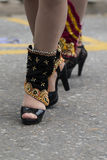carnival female shoes Stock Image