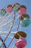 Carnival Ferris Wheel. Ferris wheel gondolas at the fair / carnival Stock Photography