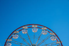 Carnival Ferris Wheel with Clean Skies Stock Photos