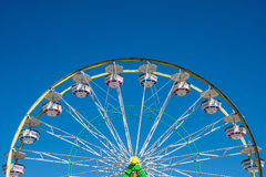 Carnival Ferris Wheel with Clear Skies Royalty Free Stock Image