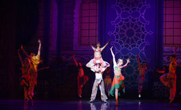 """Carnival Festival- ballet """"One Thousand and One Nights"""" Royalty Free Stock Image"""