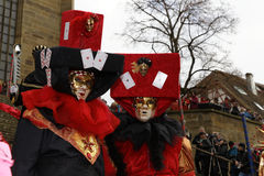 Carnival Festival - Hallia VENEZIA Stock Photography