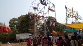 Carnival festival stunning stunts people& x27;s Stock Photography