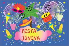 Carnival festive posters vector bann  masquerade symbols, Festival abstract colorful background. Brazilian carnival, Ve. Carnival festive posters  ifireworks Stock Photos